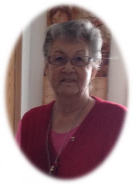 Pióhkomiaaki (Rachel Ermineskin), one of the Elders
